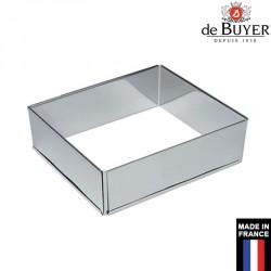 Cadre à pâtisserie extensible carré professionnel
