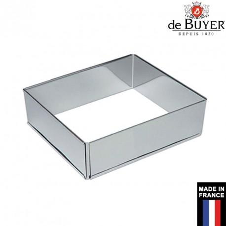 Cadre à pâtisserie extensible carré professionnel De Buyer France