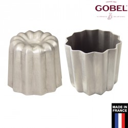 Moule à cannelé aluminium x6 Gobel France