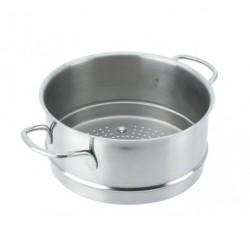 Passoire cuit-vapeur pour faitout 28cm De Buyer
