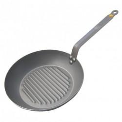 Poêle grill Mineral B Element 26cm De Buyer