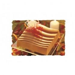Kit 2 moules plastique carré ondulé