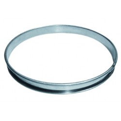 Cercle à tarte inox 24cm