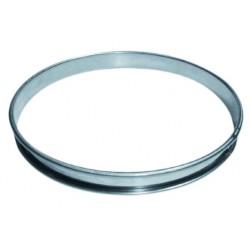 Cercle à tarte inox 28cm