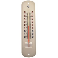 Thermomètre ambiance plastique