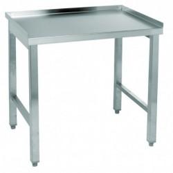 Table inox pour réchaud 3 feux