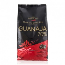 Sachet 3kg Fèves chocolat noir Guanaja 70% -Valrhona