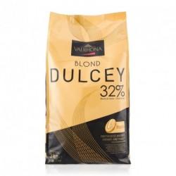 Sachet 3kg Fèves chocolat blond Dulcey 32% -Valrhona