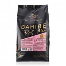 Sachet 3kg Fèves chocolat lacté Bahibé 46% - Valrhona