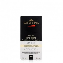 Chocolat blanc Ivoire 35% 250g - Valrhona