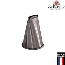 Douille à bûche inox De Buyer France