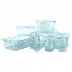 Couvercle bac gastronorme copolyester GN1/6