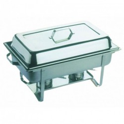 Chafing Dish inox + couvercle 9L