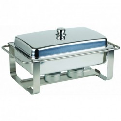 Chafing Dish inox avec couvercle 9L