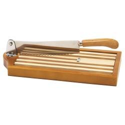 Coupe pain sur socle vernis 25cm