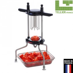 Coupe tomates et agrumes 8 sections inox professionnel tellier france