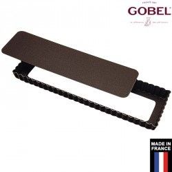 Moule tarte rectangulaire 35 cm gobel France