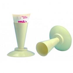 Support poche à douille plastique H23.5cm