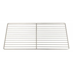 Grille gastronorme inox 12 fils 53x32.5cm