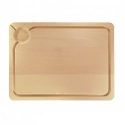 Planche en bois avec rigole 35x25cm Tellier
