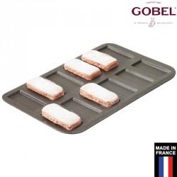 Plaque à financier anti-adhésif 12 empreintes Gobel France